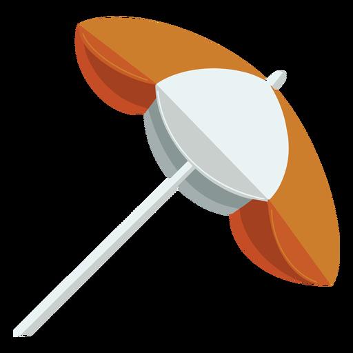 Ilustración del lado de la sombrilla