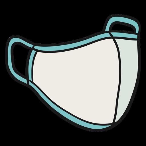 Ilustração da máscara de Pitta