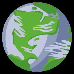 Planeta tierra ilustración tierra