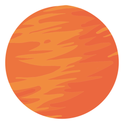 Planet mars illustration