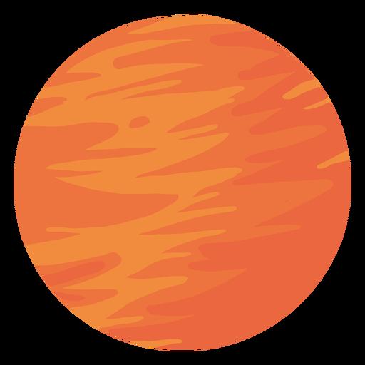 Planet mars illustration