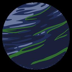 Ilustración de planeta neptuno
