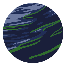 Planet neptune illustration