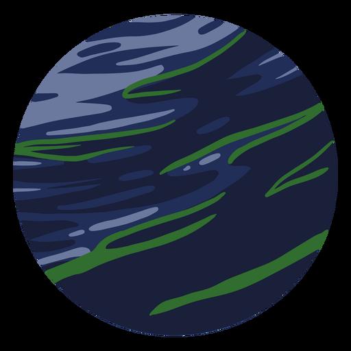 Planet neptune illustration