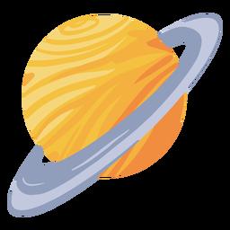 Ilustração de planeta saturno