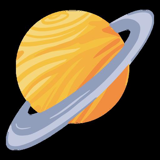 Planet saturn illustration