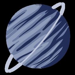 Ilustração de planeta Urano