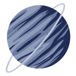 Planet uranus illustration