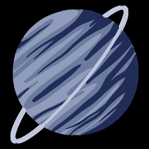 Planet uranus illustration