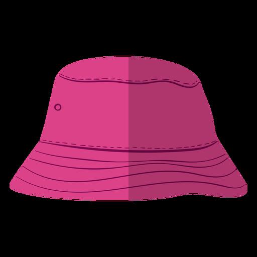 Purple bucket hat illustration