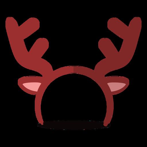 Ilustración de diadema de reno Transparent PNG