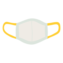 Mascarilla reutilizable plana