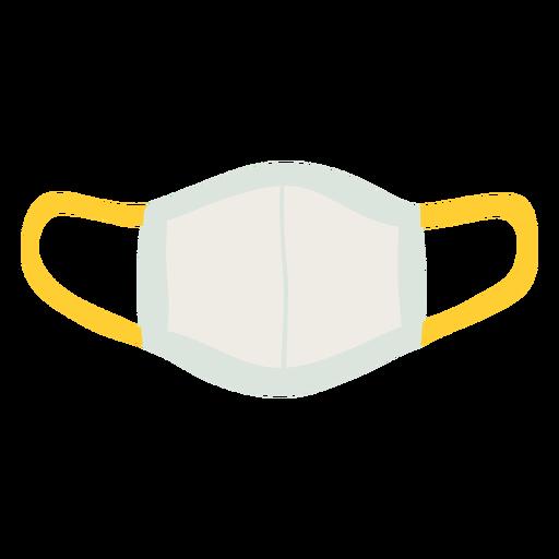 Reusable facemask flat
