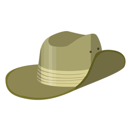 Safari hat illustration
