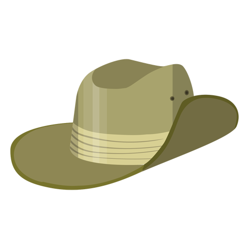 Safari hat illustration Transparent PNG