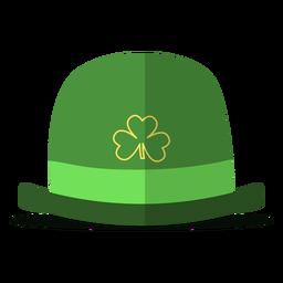 Ilustración del sombrero del día de san patricio