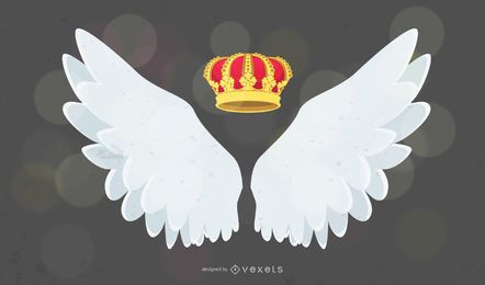 Fashion Wings and Crown
