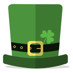 Saint patricks hat illustration