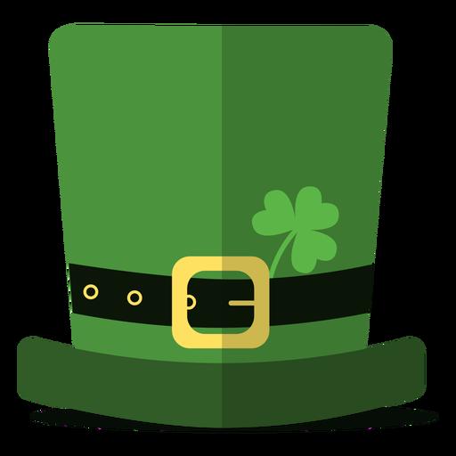 Ilustración de sombrero de san patricio