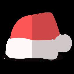 Ilustração de chapéu de Papai Noel