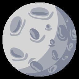 Ilustración de la luna satelital