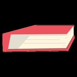 School book red flat