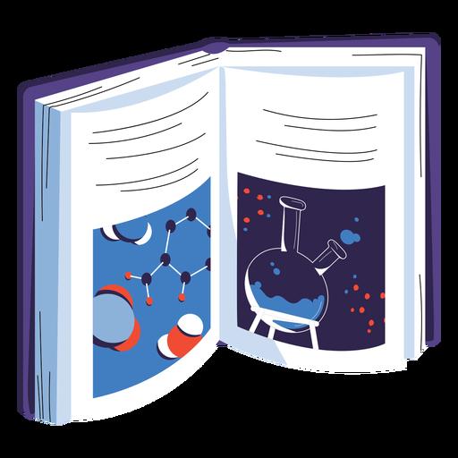 Science book illustration
