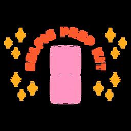 Insignia del kit de preparación para selfies
