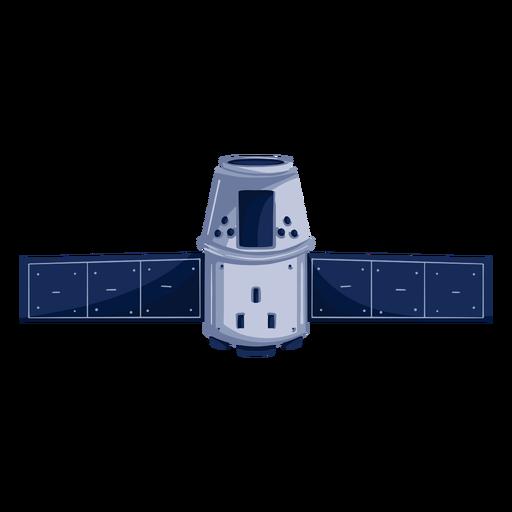 Space artificial satellite illustration