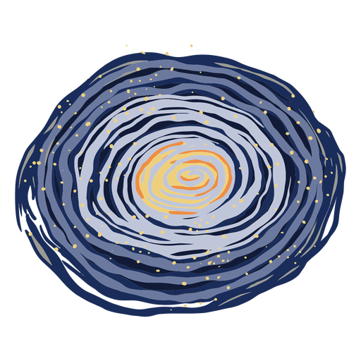 Space galaxy illustration