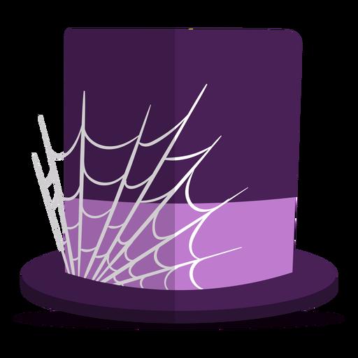 Spider web hat illustration