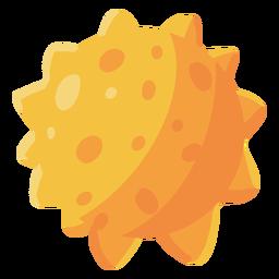 Star sun illustration