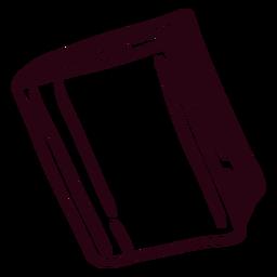 Libro cerrado de trazo