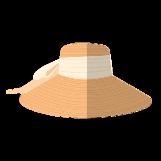 Summer woman hat illustration
