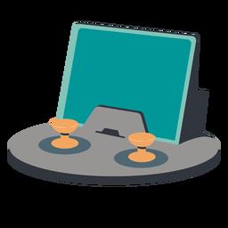 Ilustração de controlador de tablet