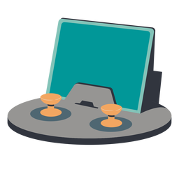 Ilustración de controlador de tableta