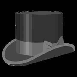 Ilustración del arco del sombrero de copa