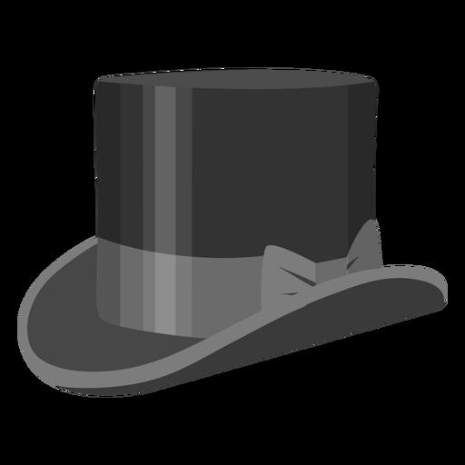 Ilustración de arco de sombrero de copa