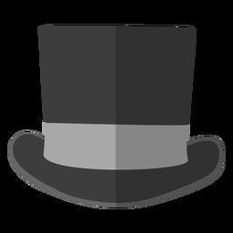 Ilustración de sombrero de copa