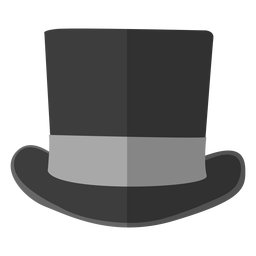 Top hat illustration