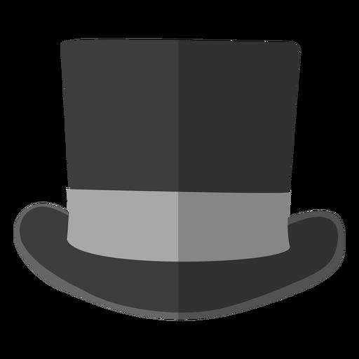 Top hat illustration Transparent PNG