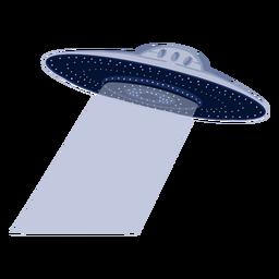 Ilustração alienígena ufo