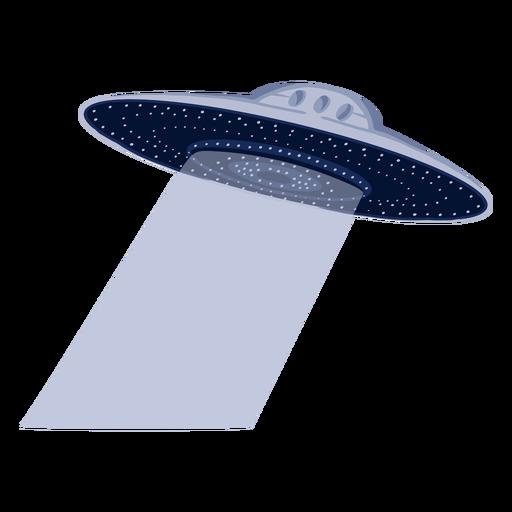 Ilustración alienígena ovni