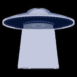 Ilustración de extraterrestres ovni