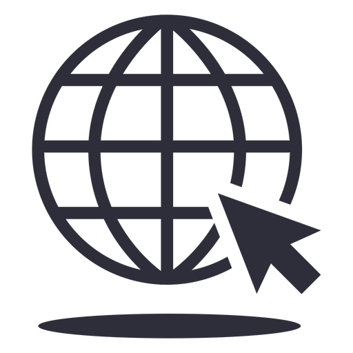 Website cursor stroke icon Transparent PNG
