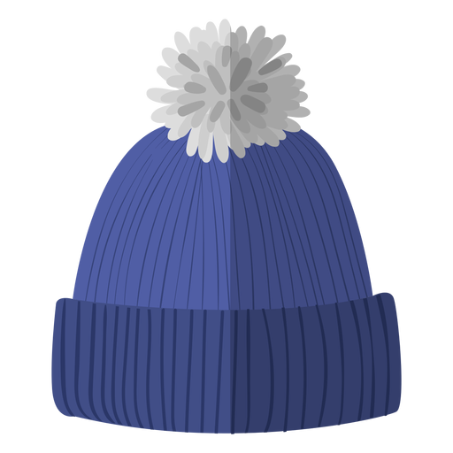 Winter beanie hat illustration Transparent PNG