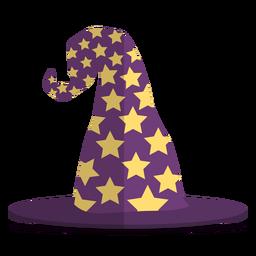 Ilustração de chapéu de mago