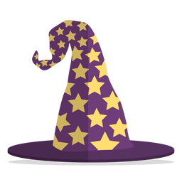 Wizard hat illustration