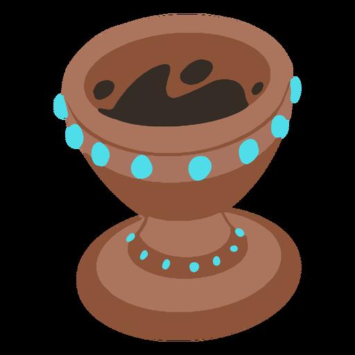 Aztec pot isometric