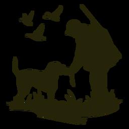 Perro de caza de alimentación